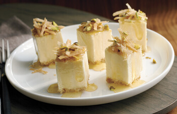 Mini Baklava Cheesecake Bites