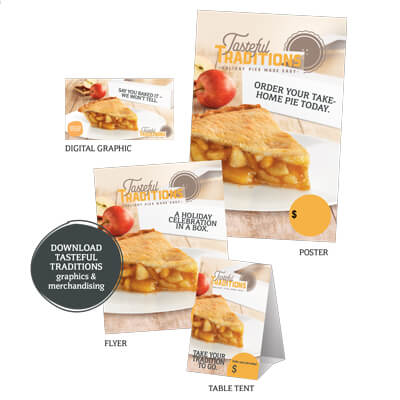 Tasteful Traditions Pie Program Media Pack