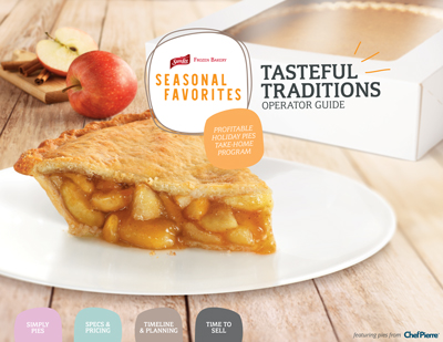 Tasteful Traditions Pie Program Operator Guide