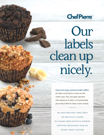 Chef Pierre<sup>&reg;</sup> Bulk Muffin Brochure